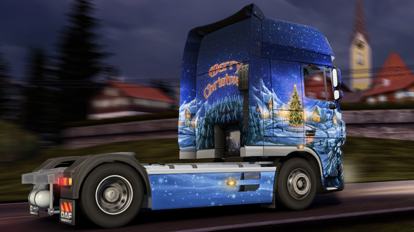 Screenshot 3 - Euro Truck Simulator 2 - Christmas Paint Jobs Pack