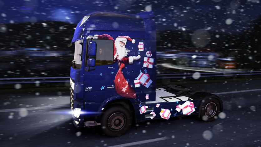 Screenshot 1 - Euro Truck Simulator 2 - Christmas Paint Jobs Pack