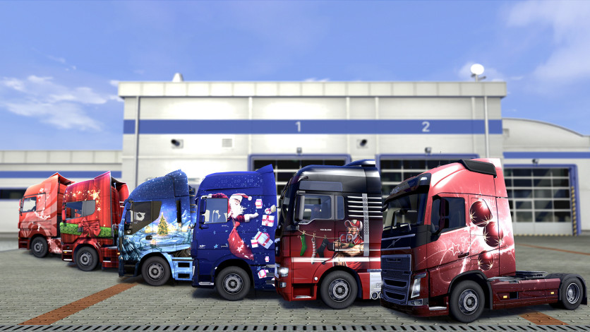 Screenshot 7 - Euro Truck Simulator 2 - Christmas Paint Jobs Pack