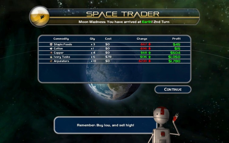 Screenshot 9 - Space Trader: Merchant Marine