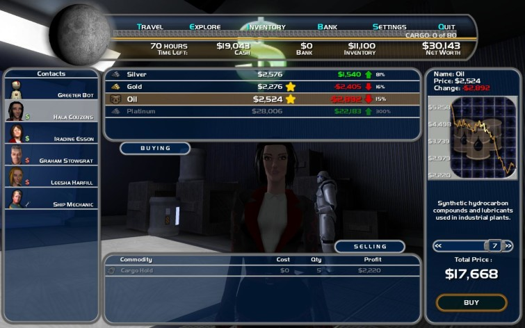 Screenshot 13 - Space Trader: Merchant Marine