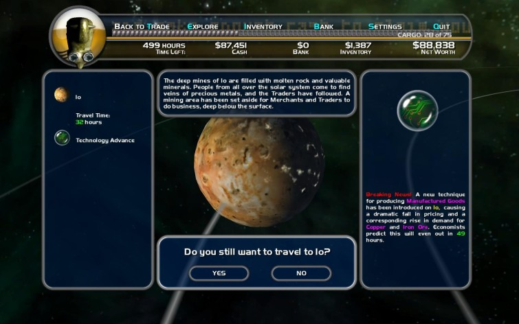 Screenshot 2 - Space Trader: Merchant Marine