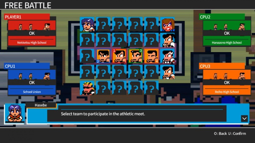 Screenshot 6 - River City Super Sports Challenge ~All Stars Special~