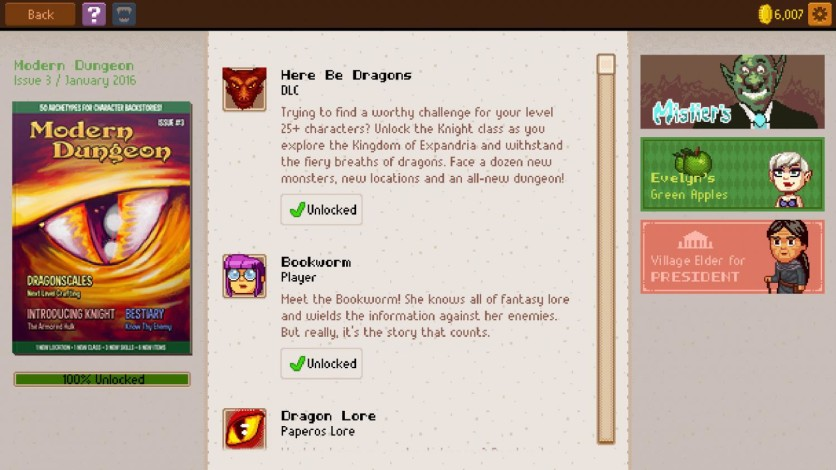 Screenshot 4 - Knights of Pen and Paper 2 - Here Be Dragons