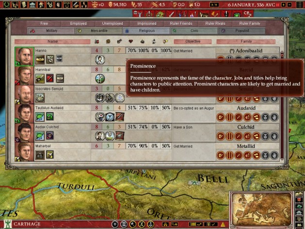 Screenshot 10 - Europa Universalis: Rome - Gold Edition