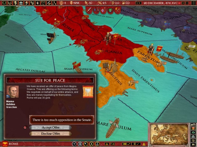 Screenshot 16 - Europa Universalis: Rome - Gold Edition