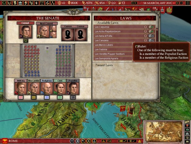 Screenshot 15 - Europa Universalis: Rome - Gold Edition
