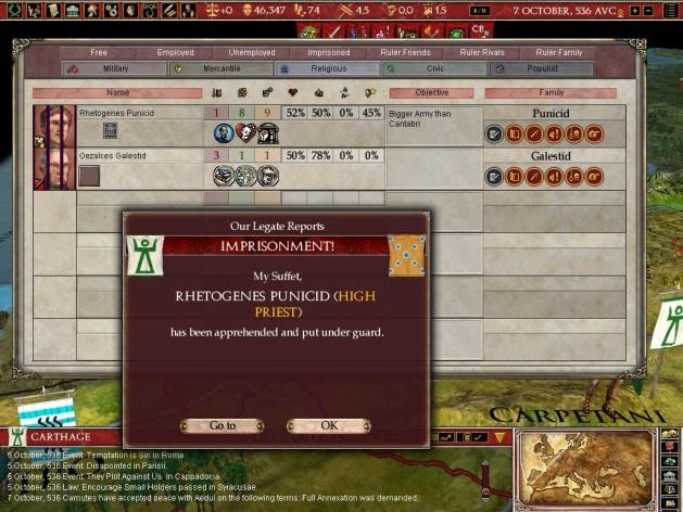 Screenshot 7 - Europa Universalis: Rome - Gold Edition