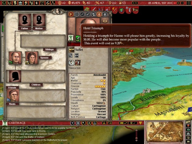 Screenshot 6 - Europa Universalis: Rome - Gold Edition