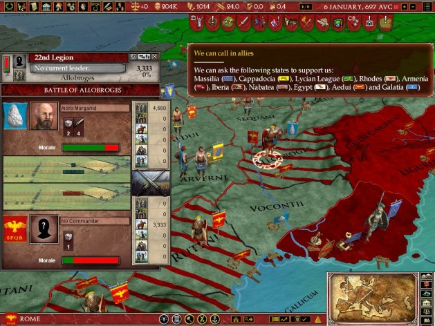 Screenshot 13 - Europa Universalis: Rome - Gold Edition