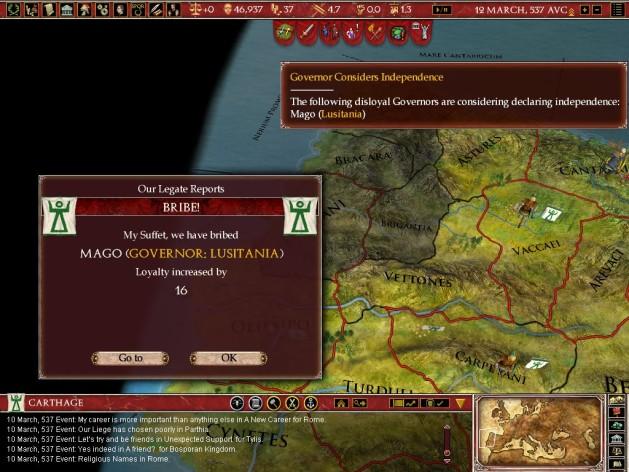 Screenshot 4 - Europa Universalis: Rome - Gold Edition