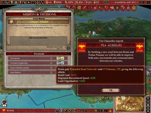 Screenshot 12 - Europa Universalis: Rome - Gold Edition