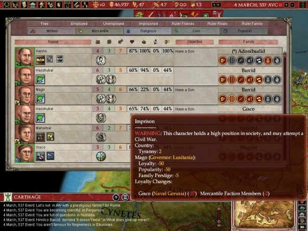 Screenshot 5 - Europa Universalis: Rome - Gold Edition