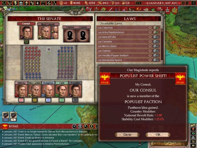 Screenshot 14 - Europa Universalis: Rome - Gold Edition