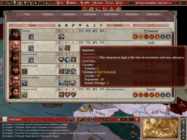 Screenshot 11 - Europa Universalis: Rome - Gold Edition