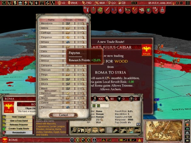 Screenshot 17 - Europa Universalis: Rome - Gold Edition