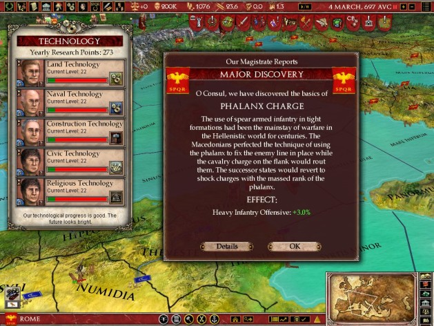 Screenshot 18 - Europa Universalis: Rome - Gold Edition