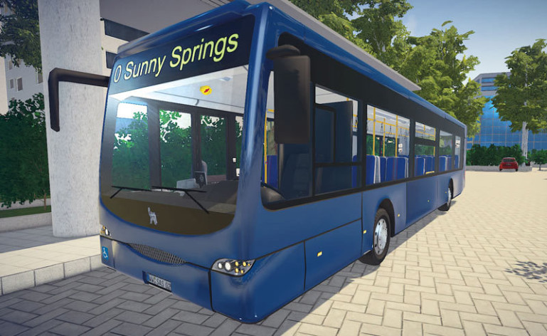 Screenshot 4 - Bus Simulator 16
