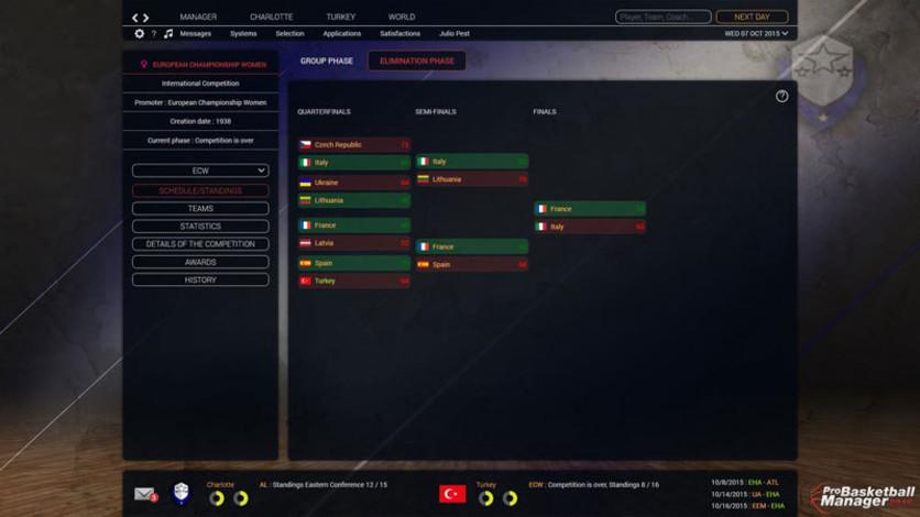 Screenshot 7 - Pro Basketball Manager 2016