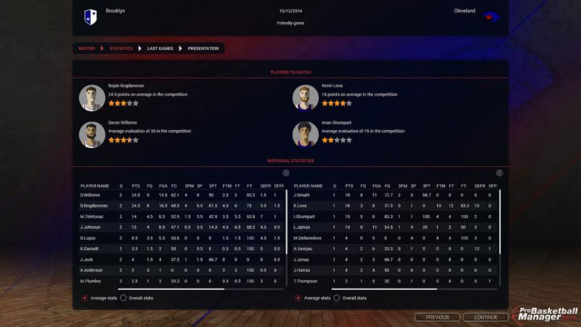 Screenshot 3 - Pro Basketball Manager 2016