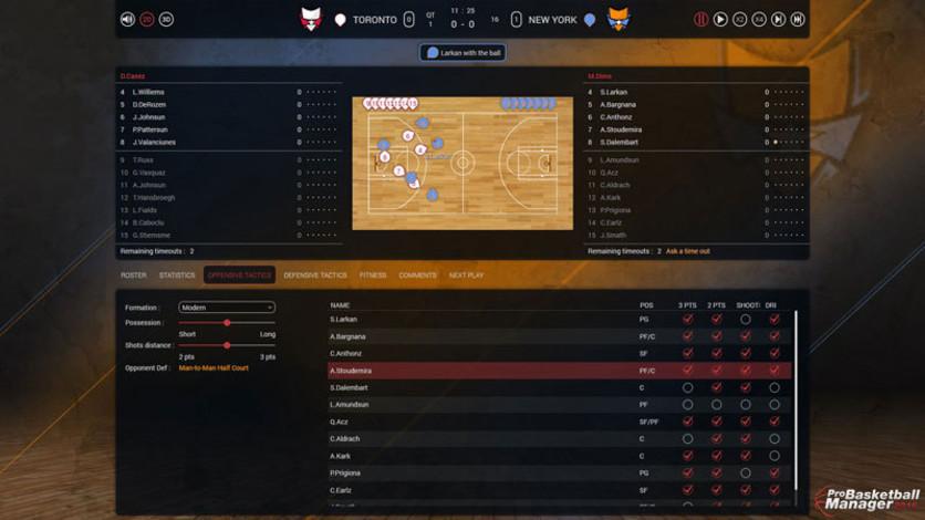 Screenshot 2 - Pro Basketball Manager 2016