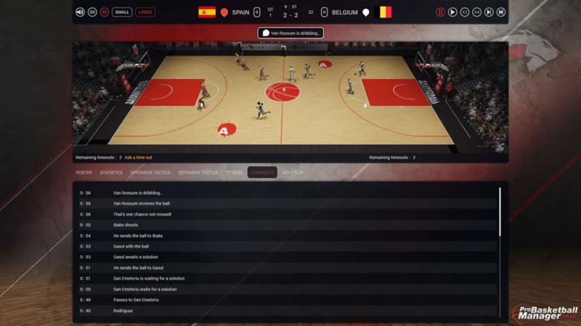 Screenshot 6 - Pro Basketball Manager 2016