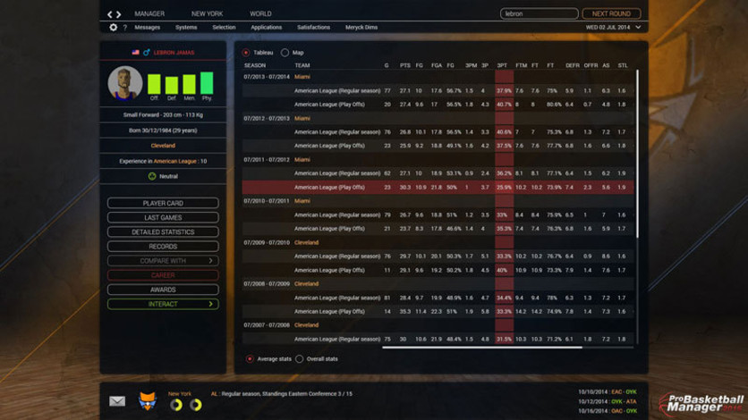 Screenshot 5 - Pro Basketball Manager 2016