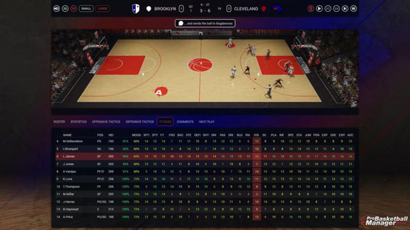 Screenshot 4 - Pro Basketball Manager 2016