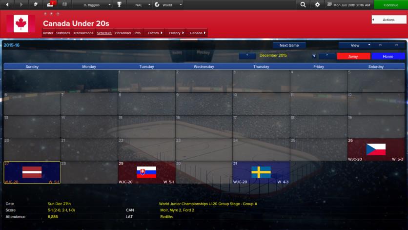 Screenshot 7 - Eastside Hockey Manager
