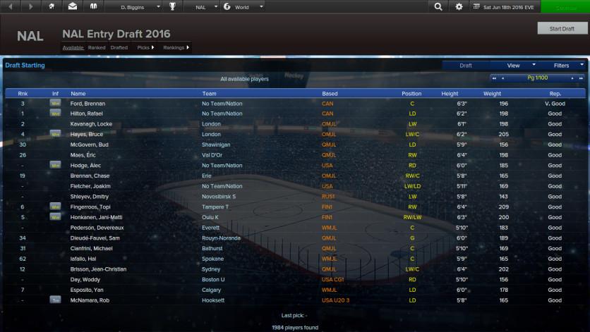 Screenshot 4 - Eastside Hockey Manager