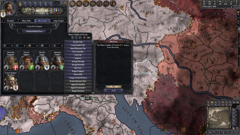 Screenshot 4 - Crusader Kings II: Conclave