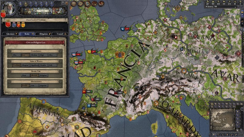 Screenshot 2 - Crusader Kings II: Conclave