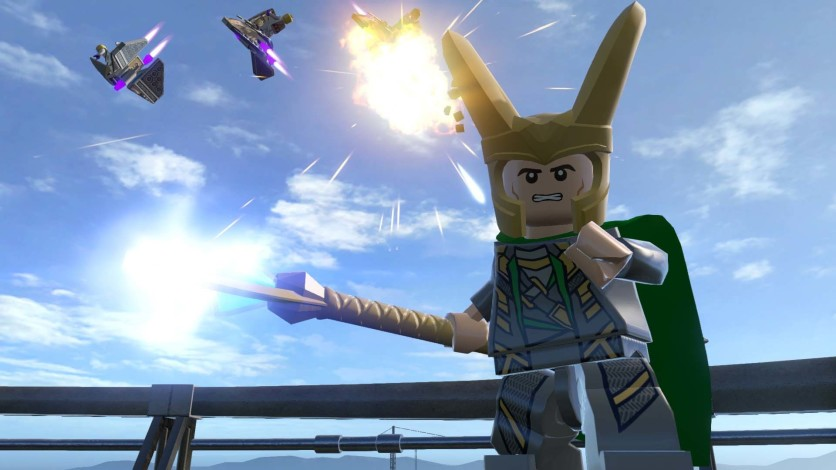 Screenshot 4 - LEGO Marvel's Avengers Deluxe Edition
