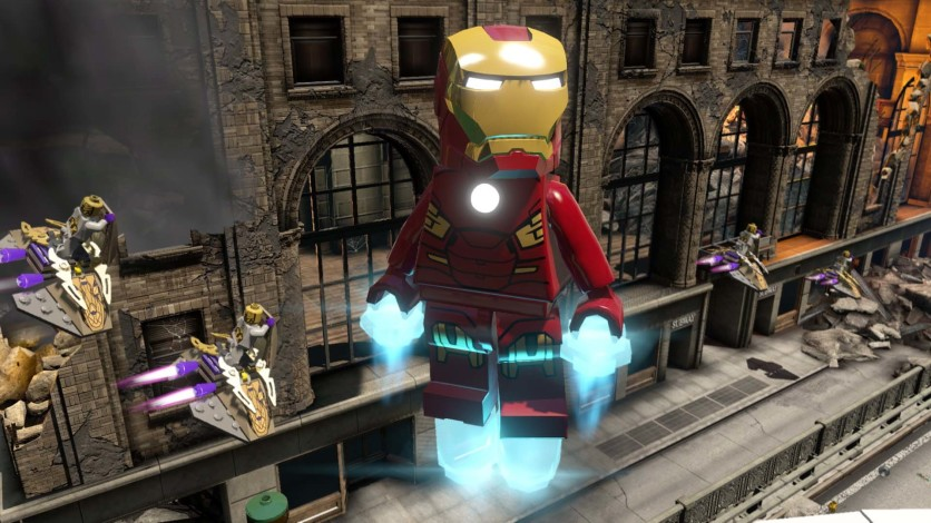 Screenshot 3 - LEGO Marvel's Avengers Deluxe Edition