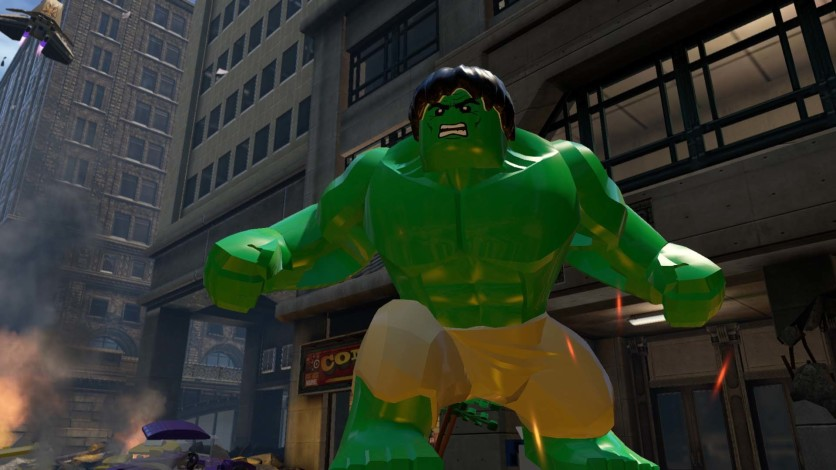 Screenshot 2 - LEGO Marvel's Avengers Deluxe Edition