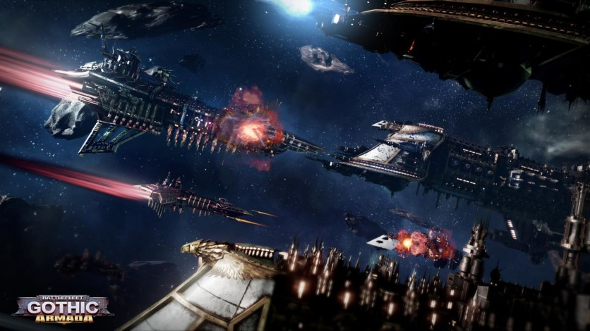 Screenshot 2 - Battlefleet Gothic: Armada