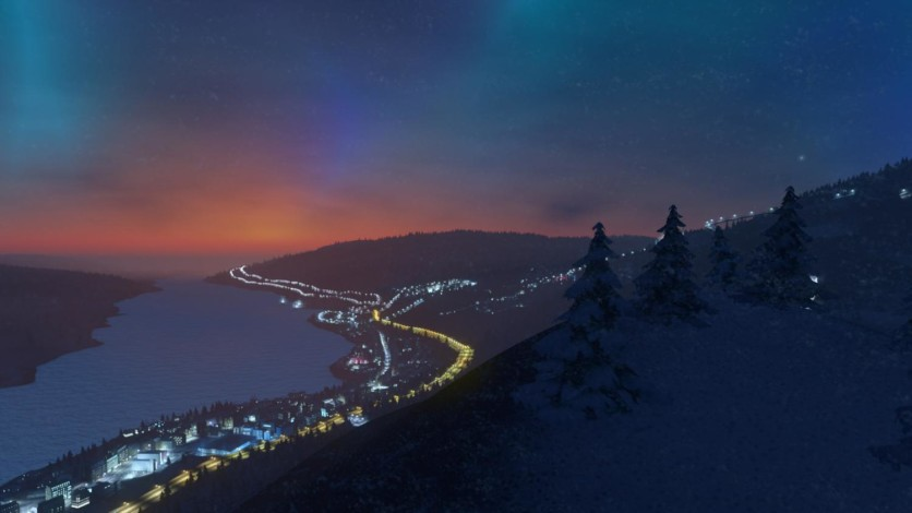 Screenshot 8 - Cities: Skylines - Snowfall