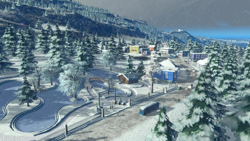 Screenshot 5 - Cities: Skylines - Snowfall