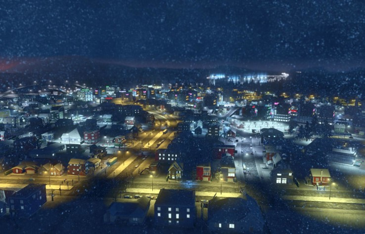 Screenshot 3 - Cities: Skylines - Snowfall