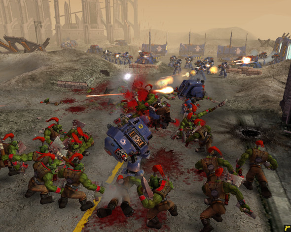 Screenshot 1 - Warhammer 40,000: Dawn of War - Game of the Year