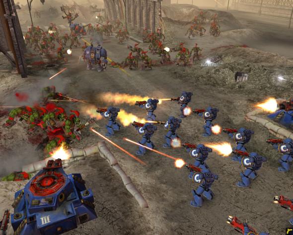 Screenshot 2 - Warhammer 40,000: Dawn of War - Game of the Year