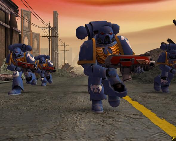 Screenshot 3 - Warhammer 40,000: Dawn of War - Game of the Year