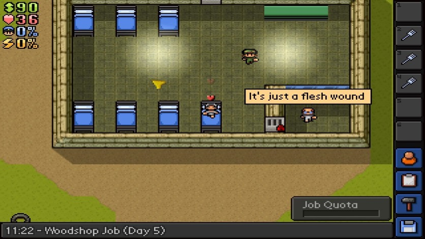 Screenshot 2 - The Escapists - Escape Team