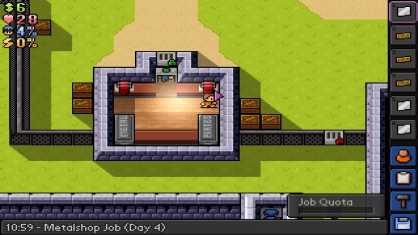 Screenshot 14 - The Escapists - Fhurst Peak Correctional Facility