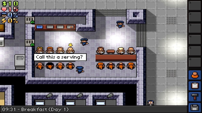 Screenshot 6 - The Escapists - Fhurst Peak Correctional Facility