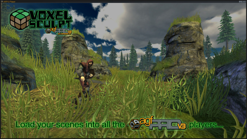 Screenshot 5 - Axis Game Factory's AGFPRO - Voxel Sculpt