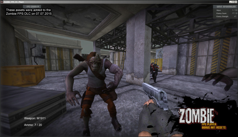 Screenshot 13 - Axis Game Factory's AGFPRO Zombie FPS Player