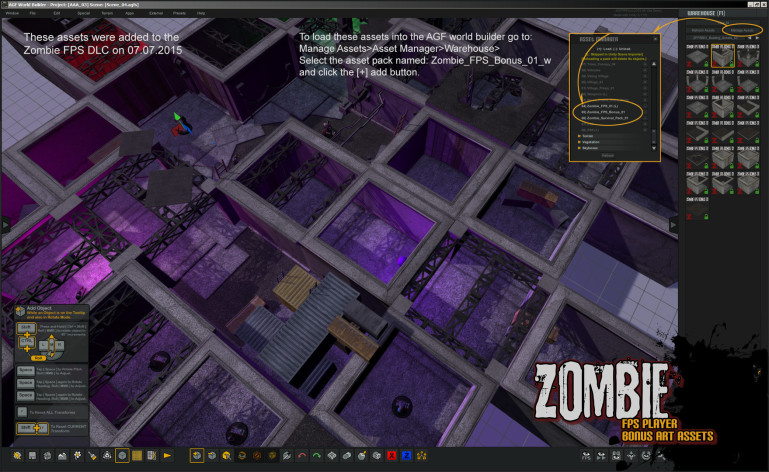 Screenshot 8 - Axis Game Factory's AGFPRO Zombie FPS Player