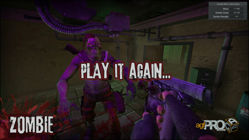 Screenshot 4 - Axis Game Factory's AGFPRO Zombie FPS Player