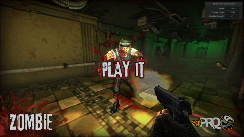 Screenshot 2 - Axis Game Factory's AGFPRO Zombie FPS Player